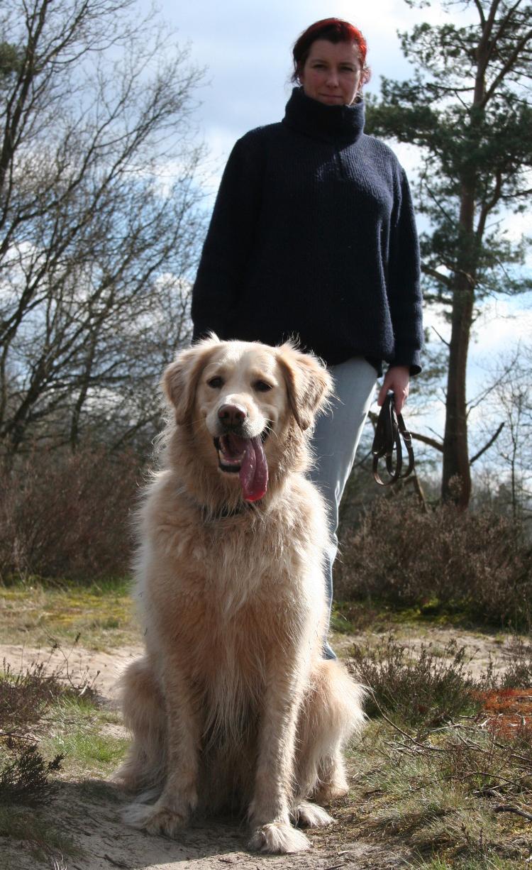 Nicole Hehnke und Hund